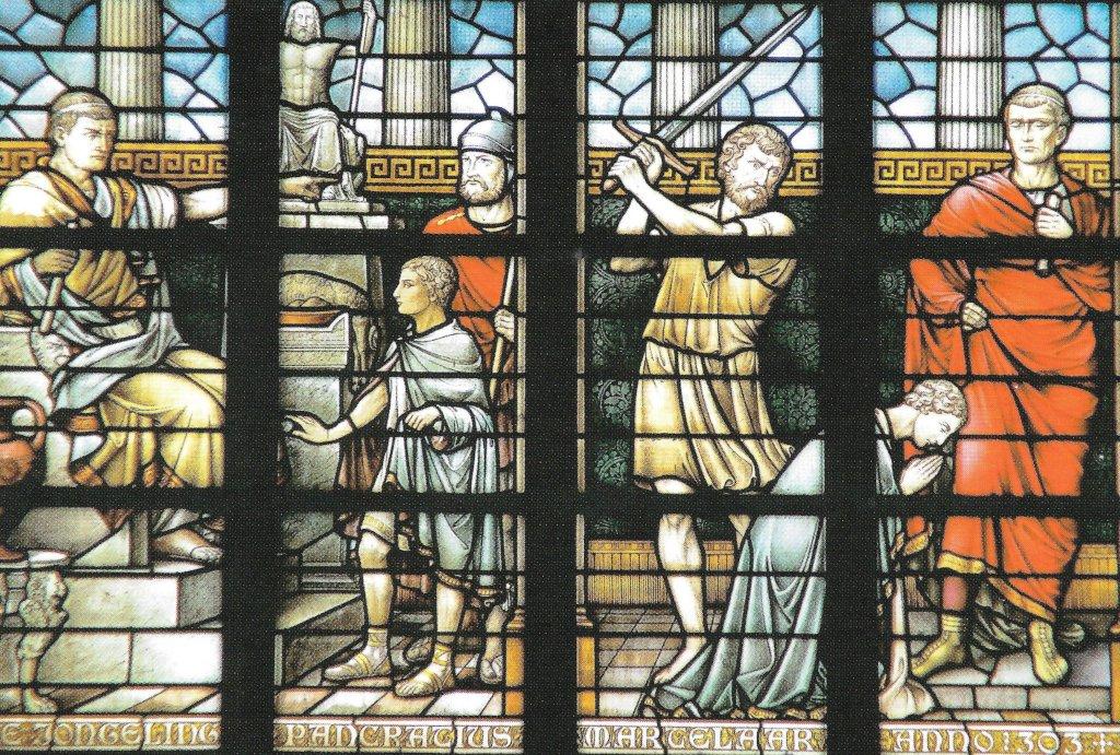 Glas in lood Pancratiuskapel