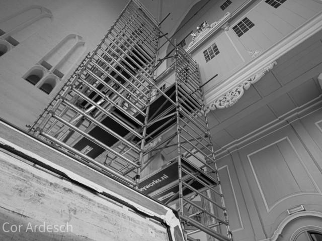 Vorderingen restauratie Kamorgel